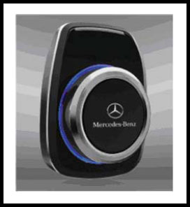 Mercedes-Benz Bluetooth Portable Hands-Free Device Now Available for Cars Without Factory Phone System