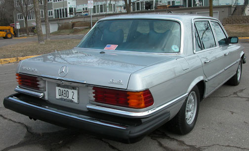 1977 450SEL 6.9 Liter For Sale on eBay! Another Classic Mercedes from Local Mercedes Benz Club Member