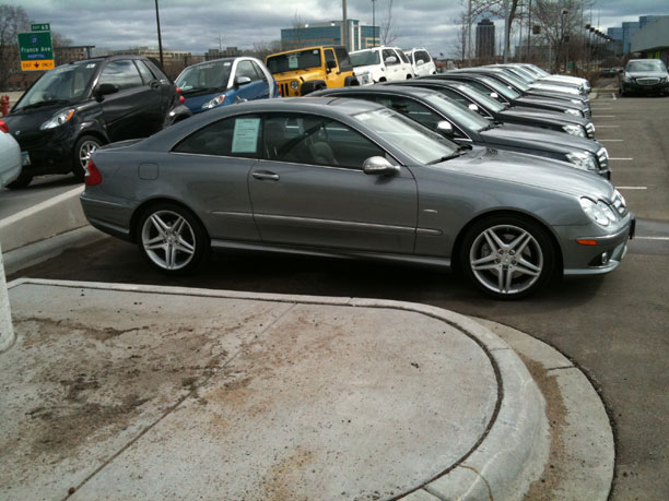 One of 500 Ever Built! 2009 Mercedes Benz CLK350 Grand Edition – 14k miles!