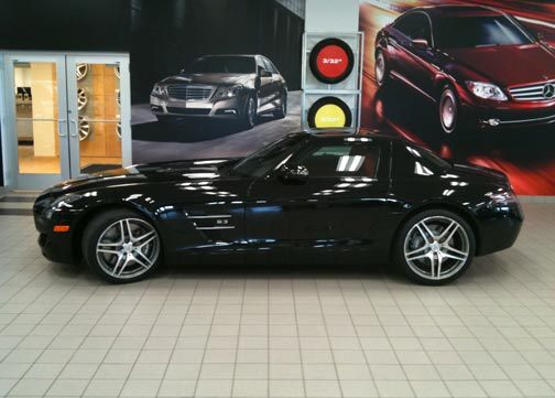 Mercedes-SLS-AMG-Sales figures