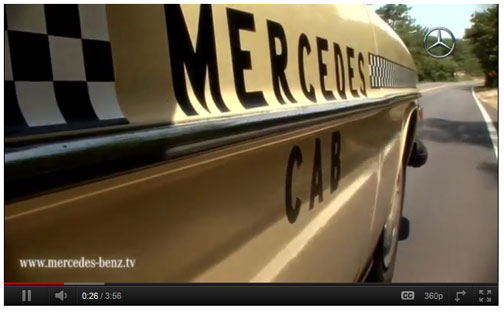 Mercedes Cab Movie