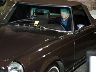Travolta mercedes stolen