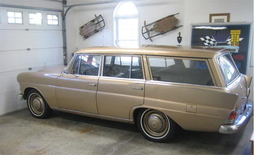 Rare 1968 Mercedes-Benz Heckfloss 200D Universal Estate Wagon Appears on eBay!