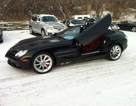 Hardley Used 2008 Mercedes SLR McLaren Roadster Arrives at Sears Imports in Minneapolis, Original MSRP was $514,690, Buy It Today for Just $339,000!