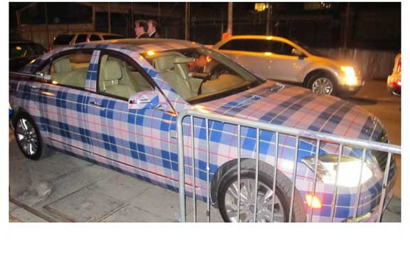 Mercedes Benz to Be First Auto Manufacturer Offering Plaid  Exterior Paint Options!