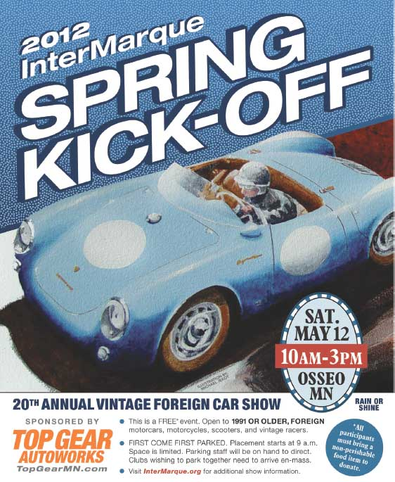 InterMarque Spring Kick Off Car Show This Saturday, May 12th in Osseo, MN Join Twin Cities Mercedes Benz Club Members and Convoy to the Show!