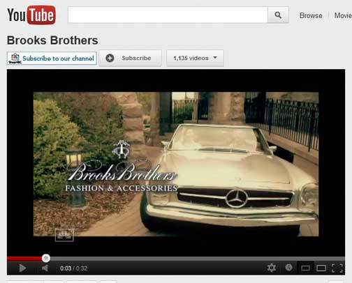 Local Twin Cities Mercedes-Benz Club Member's Vintage 1971 280SL Featured in Brooks Brothers TV Advertisement