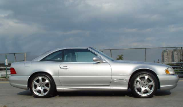 2002 Mercedes SL500 Silver Arrow Edition