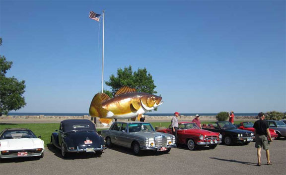 Inaugural Walleye 1000 Vintage Rally a Success! 500+ Miles Over the Back Roads of Rural Minnesota and Wisconsin
