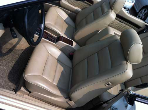Mercedes E320 Cabriolet