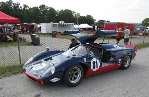 Elkhart Lake Road America HAWK Vintage Races