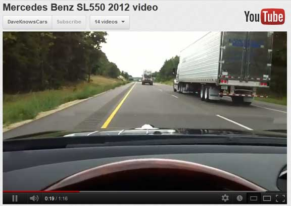 2012-Mercedes-SL550-video