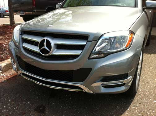 2013 mercedes GLK350 changes