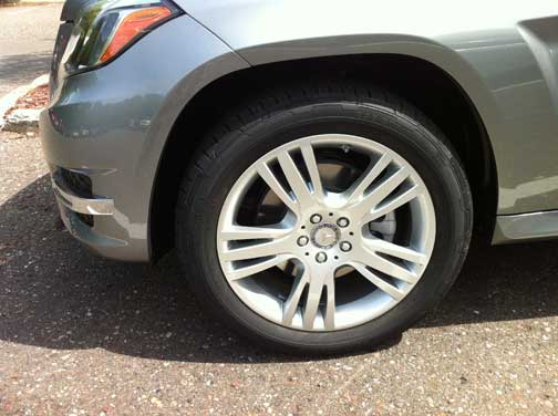 2013 Mercedes Benz GLK350 Wheel