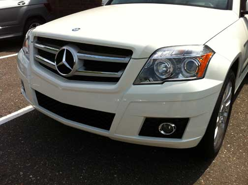 2012 Mercedes GLK350 head lamps
