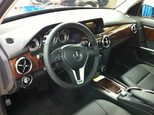 2013 Mercedes GLK350 New Interior