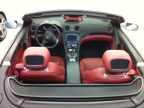 Mercedes SL550 Airscarf
