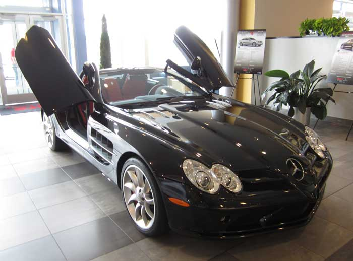 Mercedes McLaren SLR Roadster for sale