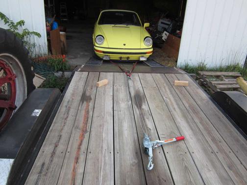 Porsche Barn Find