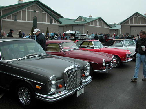 Minneapolis Mercedes Club Car show