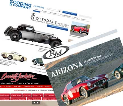 Barrett Jackson Arizona Auction Bound, And RM, Gooding, Bonhams, Russo and Steele! DaveKnowsCars to Report from the Center of the Collector car World: 5 Days – 5 Collector Car Auctions
