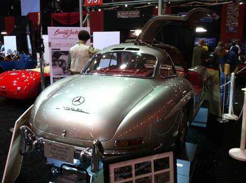 Clark Gable Mercedes 300SL Gullwing