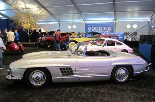 300SL Roadster at Gooding and Co Arizona 2013