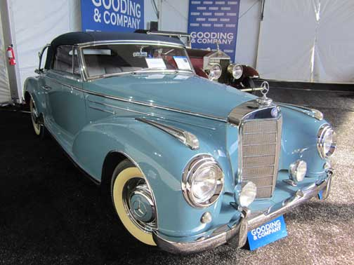 Mercedes 300S Cabriolet Gooding and Co Scottsdale 2013