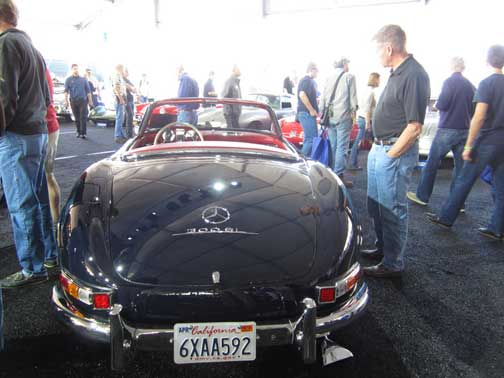 Mercedes Benz 300SL Roadster at Gooding and co