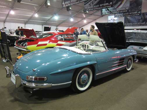 Mercedes 300SL roadster Russo and Steele