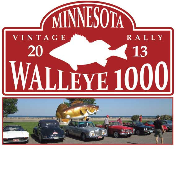 2013 Walleye 1000 Vintage Rally Event Dates Announced – Saturday & Sunday, June 8 – 9, 2013 – Join Us with your Classic Car!