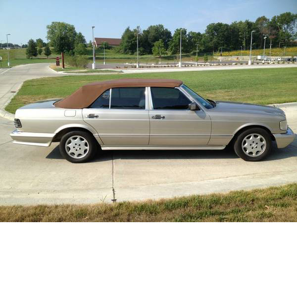 Rare Mercedes Benz 560SEL Convertible For Sale – The Only W126 Convertible in the U.S.?