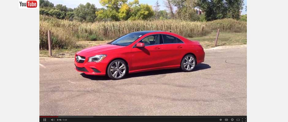 2014 Mercedes CLA250 Video Review – CLA250 Looks Good in Jupiter Red, Drives Even Better!