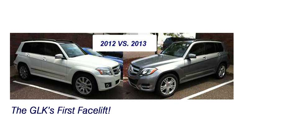 The Differences Between the 2013 Mercedes Benz GLK350 and the 2012 GLK350 In Pictures