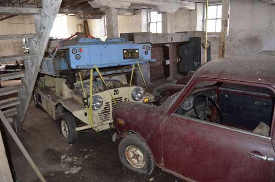Austin Mini Moke Collection Barn Find