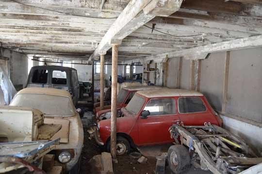 Barn Find Austin Mini Moke