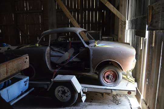 Barn Find Moretti 850 Coupe