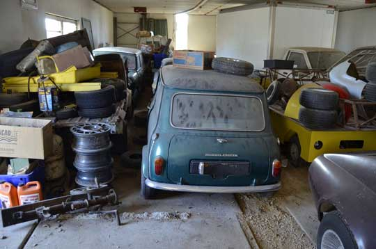 Mini Cooper Barn Find