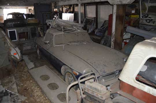 Barn Find MGB