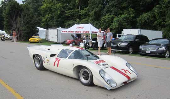 HAWK Vintage Races Road America Lola T70 Can AM