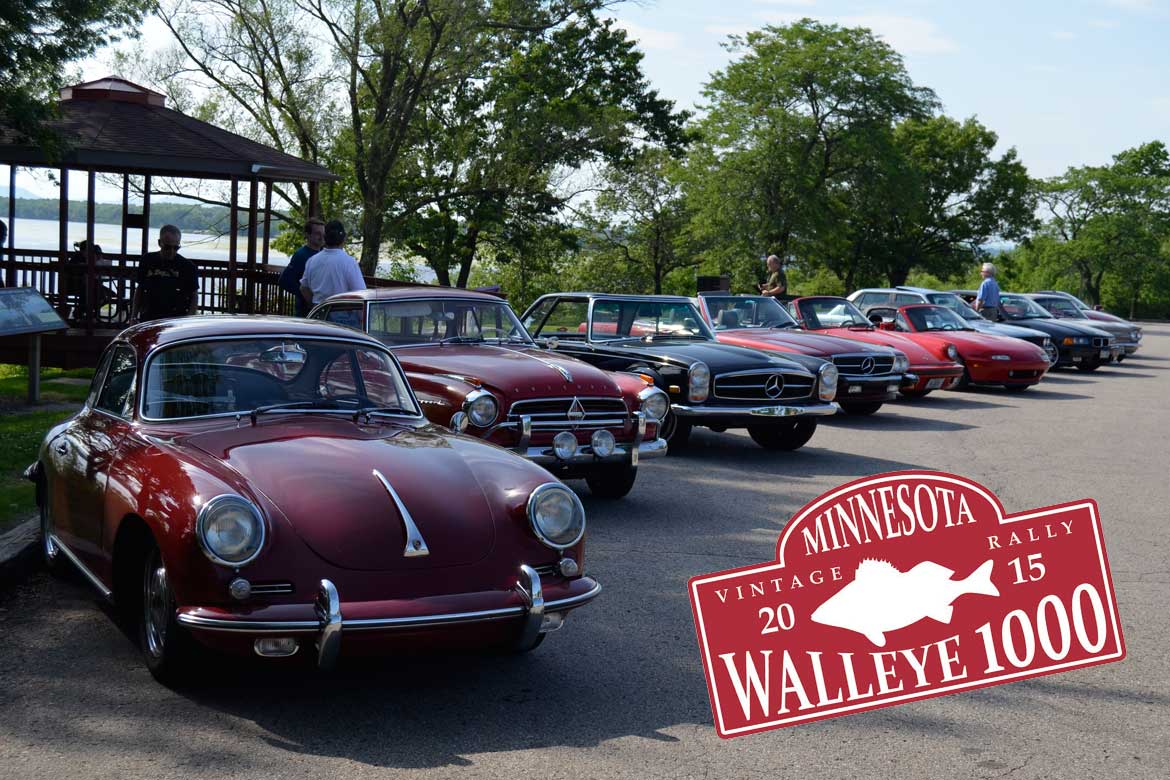 2015 Walleye 1000 Vintage Rally - Recap and Photos - Dave Knows Cars