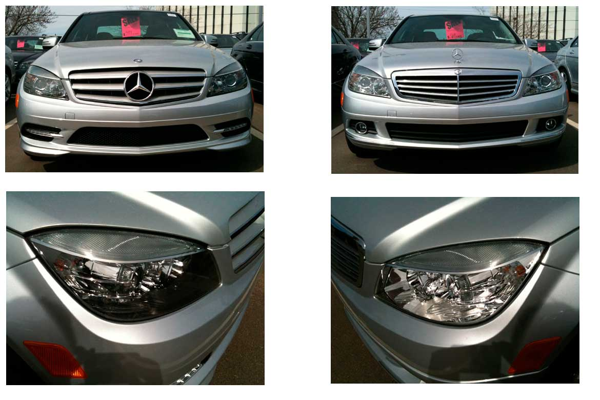Differences Between Mercedes Benz C300 Sport And Luxury Models