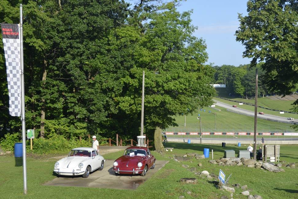 Porsche 356C Road America