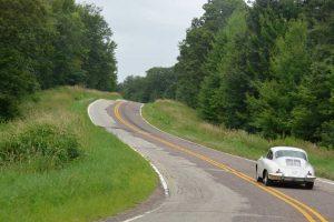 Porsche-356-Light-Ivory-Driving-Road-America-Road-Trip1