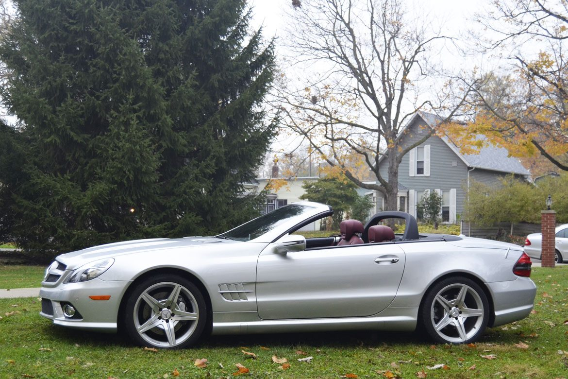 2009 mercedes benz sl550 silver arrow edition for sale one owner w history and records dave. Black Bedroom Furniture Sets. Home Design Ideas