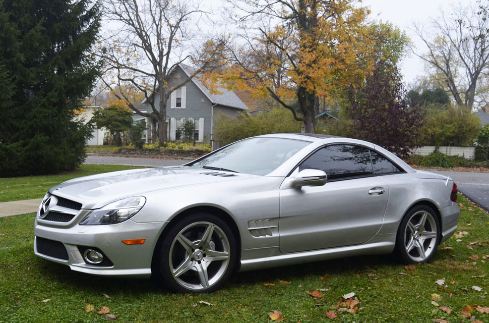 2009 Mercedes Benz SL550 Silver Arrow