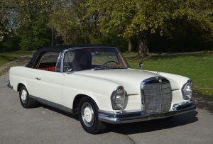 1963 Mercedes 220SE W111 Cabriolet Convertible For Sale