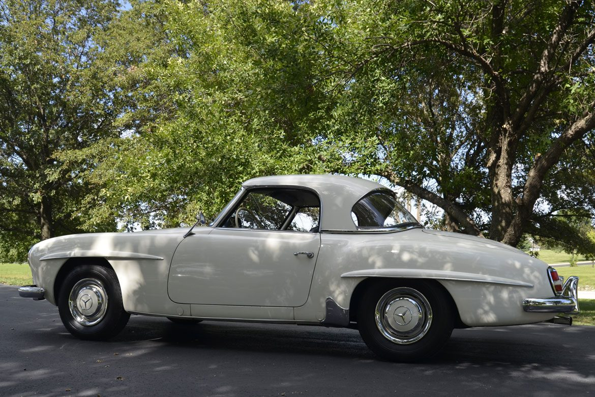 1962 Mercedes 190 SL Roadster For Sale - Same owner 50+ Years ...