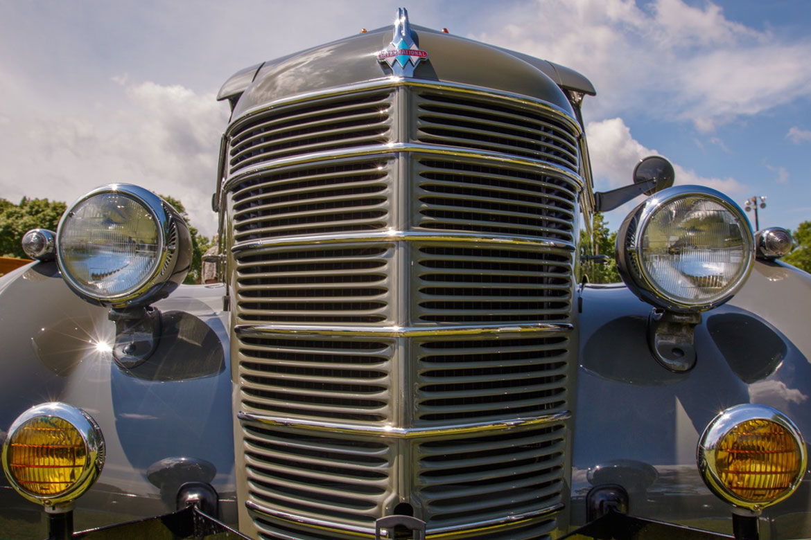 1940 International D2 Pick Up For Sale - Art Deco Style, Over The ...