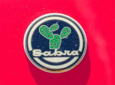 Sabra-Sport-Roadster-Cactus-Badge